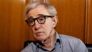 "In this Dec. 29, 2011 file photo, Woody Allen, director of the film, ""Midnight in Paris,"" is photographed during an interview in Beverly Hills, Calif. (AP Photo/Matt Sayles, File)"