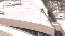 Rainbow flag city Hall Rob Ford