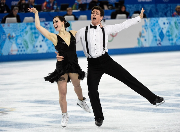 Canada's Tessa Virtue Scott Moir judging scandal