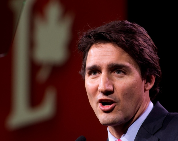 Federal Liberal leader Justin Trudeau convention