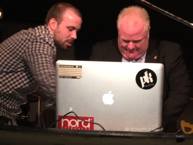 Mayor Rob Ford at The Rivoli
