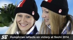 Humphries reflects on gold medal win in Russia