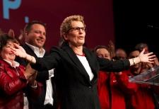 Ontario Premier Kathleen Wynne convention