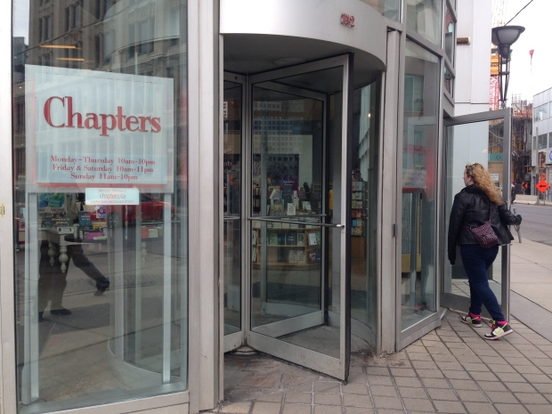 Chapters store at Richmond and John closing