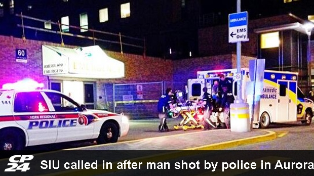 SIU called in after police shooting in Aurora | CP24 com