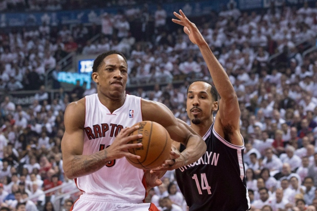 Toronto Raptors' DeMar DeRozan
