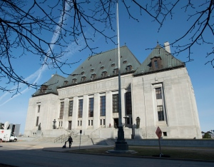 The Supreme Court of Canada is seen Friday, April 25, 2014, in Ottawa. (Adrian Wyld / THE CANADIAN PRESS)