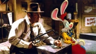 Bob Hoskins in a scene from 'Who Framed Roger Rabbbit?'