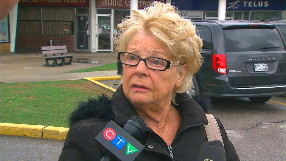 Toronto Mayor Rob Ford's mother, Diane, speaks to reporters Thursday, May 1, 2014.