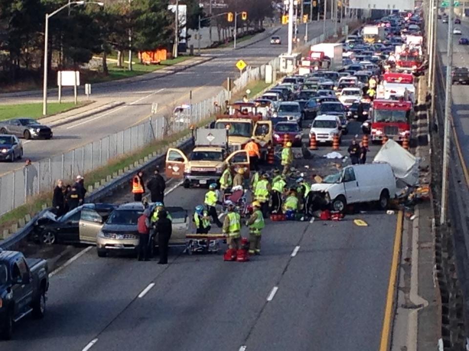 Oakville Car Crash