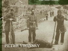 "The cover of the book 'Ridgeway' by Peter Vronsky is seen in this undated handout photo. The story behind Decoration Day � a tribute to the Battle of Ridgeway, a little-known episode in Canadian history �is chronicled in the new book ""Ridgeway: The American Fenian Invasion and the 1866 Battle That Made Canada."" (THE CANADIAN PRESS/HO - Penguin Group)"