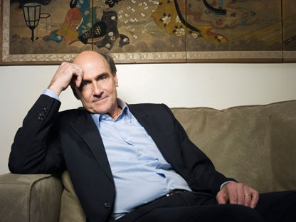In this Feb. 15, 2011 photo, singer James Taylor poses for a portrait in New York. (AP Photo/Victoria Will)