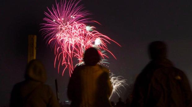 Toronto Victoria Day fireworks