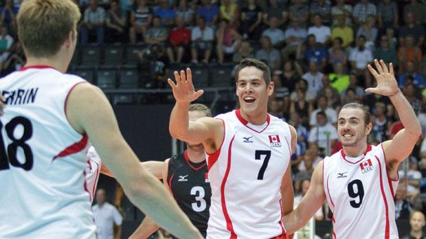 volleyball, men, Canada