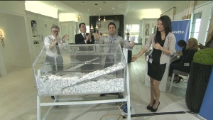 Prizes awarded in Princess Margaret Home Lottery