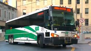 GO Transit bus. (File)