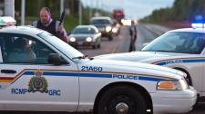 RCMP, New Brunswick, manhunt
