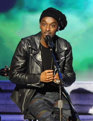 K'naan perfroms at the Independent Spirit Awards on Saturday, Feb. 25, 2012, in Santa Monica, Calif. (AP Photo/Vince Bucci)