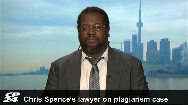 Chris spence plagiarized dissertation