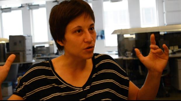 Ukrainian LGBT activist Olena Semenova