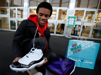 New Air Jordans cause shopping frenzy in U.S.  1d50c98eee19