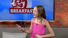 10-year-old girl wows Perez Hilton