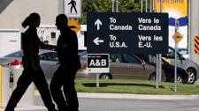 border, Canada