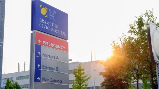 Brampton Civic Hospital file