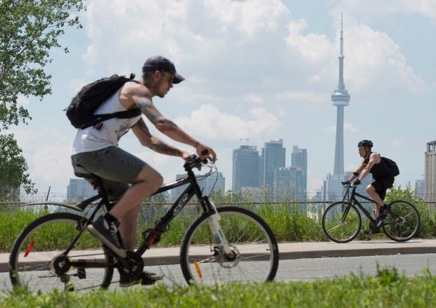 Toronto skyline file