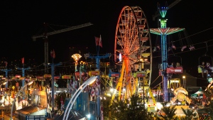 A general view of the Canadian National Exhibition in Toronto on Saturday, Aug. 23, 2014. (Chris Young / THE CANADIAN PRESS)