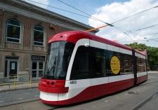 New streetcars roll into service on Spadina