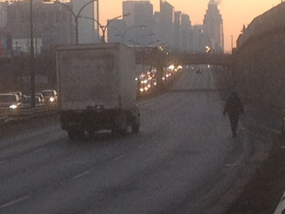 Woman dies after being hit by truck on Gardiner   CP24 com