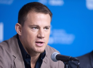 "Actor Channing Tatum speaks during a press conference for ""Foxcatcher"" at the 2014 Toronto International Film Festival in Toronto on Monday, Sept. 8, 2014. THE CANADIAN PRESS/Hannah Yoon"