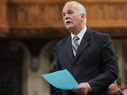 Minister of Public Safety Vic Toews speaks during question period in the House of Commons on Parliament Hill in Ottawa on Friday, Feb. 3, 2012. (THE CANADIAN PRESS/Sean Kilpatrick)