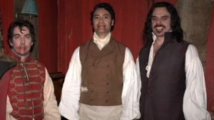 """Jonathan Brugh, Taika Waititi and Jemaine Clement star in """"What We Do in the Shadows,"""" a vampire mockumentary that screened at the Toronto International Film Festival. THE CANADIAN PRESS/ho-GAT PR"""