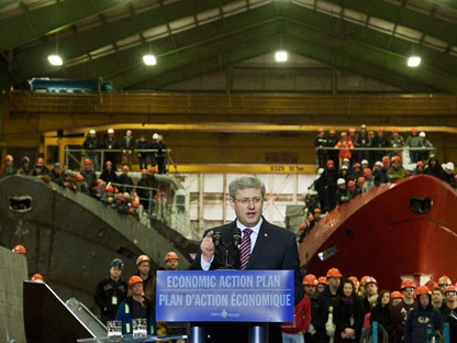 Irving Shipyard To Build New Navy Ships Cp24