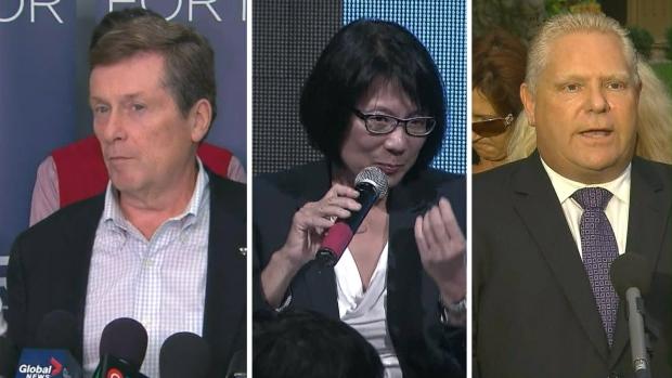 Tory, Chow, Doug Ford