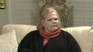 Mayor Rob Ford's sister, Kathy Ford, is seen in a sit-down interview with CP24's Stephen LeDrew to discuss the ongoing scandal surrounding the mayor on Thursday, Nov. 7, 2013.