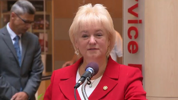 Brampton Mayor Susan Fennell is pictured in this image from September 10, 2014.