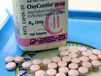 OxyContin tablets are pictured at Brooks Drugs in Montpelier, Vt., in this file photo. (AP Photo/Toby Talbot, File)