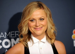 "In this April 26, 2014 file photo, actress Amy Poehler attends the American Comedy Awards in New York. Poehler's memoir, ""Yes Please,"" will be released on Oct. 28. (Photo by Brad Barket/Invision/AP)"