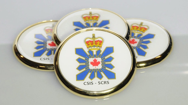 CSIS coasters are pictured in Ottawa in a 2011 photo. Proposed anti-terrorism legislation that would extend blanket protection to spy sources could seriously endanger the fairness of court proceedings, warn two lawyers with deep experience defending clients in national security cases. THE CANADIAN PRESS/HO, CSIS