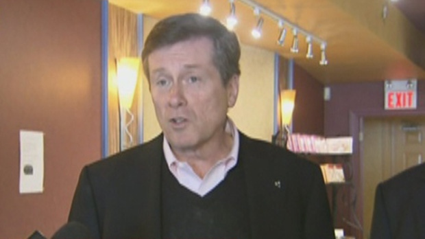 John Tory received an endorsement from The Toronto Sun on Sunday.