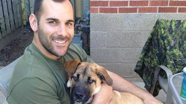 Canadian reservist Cpl. Nathan Cirillo is shown in an undated photo taken from his Facebook page.