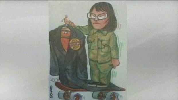 Chow, cartoon