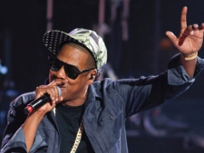 Jay-Z performs during SXSW in Austin, Texas on Monday, March 12, 2012. (AP Photo/Jack Plunkett)
