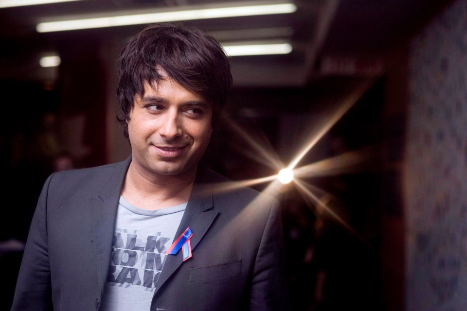 Jian Ghomeshi in Toronto for the recording of the 'Canada for Haiti' benefit show on Jan. 22, 2010. (The Canadian Press / Chris Young)