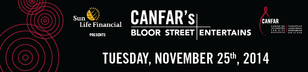 CANFAR Bloor Street Entertains