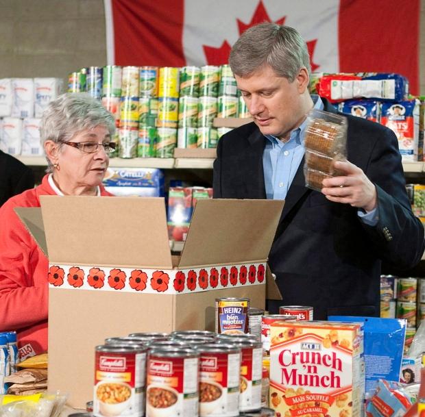 Veterans Food Bank Calgary Volunteer