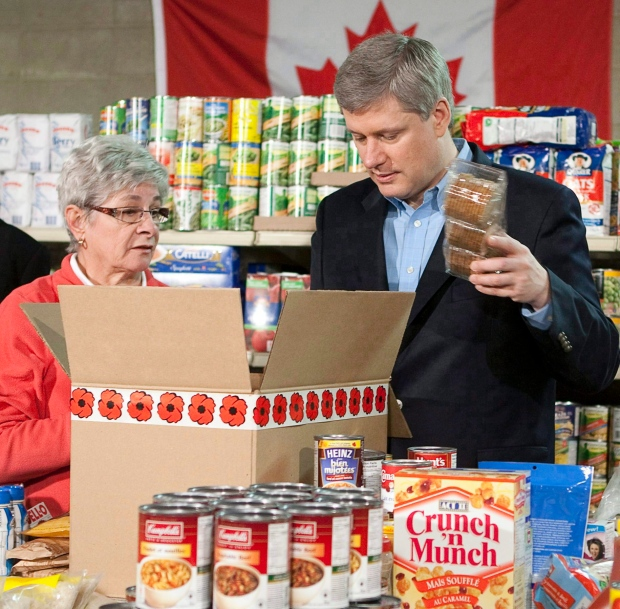 Food banks side with NDP in debate over child care versus tax benefits